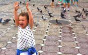 Auf dem Opernplatz, dem Platz der Tauben und des Sieges der Revolution