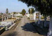 Auf dem Sauerländer Friedhof, einem der beiden beispielhaft gepflegten Billeder Friedhöfe kurz vor Allerheiligen