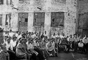 Theateraufführung im Juli 1949 in Stalino (heute Donezk)