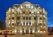 Das Temeswarer Lloyd-Palais mit der frisch renovierten Aussenfassade