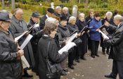 Der Chor der Banater Schwaben Karlsruhe zählte heute 17 Sängerinnen und Sänger