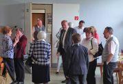 Abschied nach der HOG Hauptversammlung in den Rintheimer Stuben am späten Nachmittag