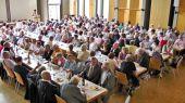 Fortsetzung der Veranstaltung im Bernhard-Saal der Pfarrgemeinde St. Bernhard