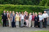Gruppenbild mit ehemaligen Deportierten aus der Ortschaft Rubla