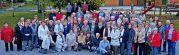 Die Reisegruppe  mit insgesamt 94 Teilnehmern, 64 Damen und 30 Herren, vor der Rückfahrt