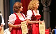 Ehrenurkunde für die Solistinnen Melitta Giel und Irmgard Holzinger-Fröhr