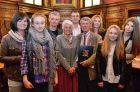 Die Familie Mathis anlässlich der Verleihung des Goldenen Ehrenzeichens am 13. Mai 2014