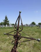 Altes Kreuz auf dem Sauerländerr Friedhof