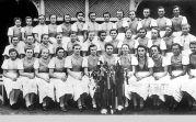 Gruppenfoto der Billeder Kirchweihmädchen 1940