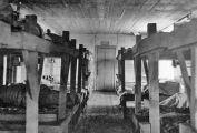 Lagerpritschen in einem sowjetischen Arbeitslager